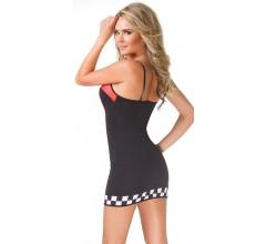 Облегающее платье «RACING» (Фото 1)