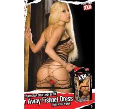 Платье из сетки «XXX - легко порвать» арт.HU-X1004