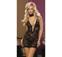 Ажурное платье «ISABEL BLACK» арт.9217