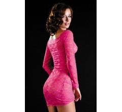 Платье с рукавами «Erolanta Pink» (Фото 1)