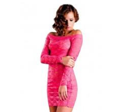 Платье с рукавами «Erolanta Pink»