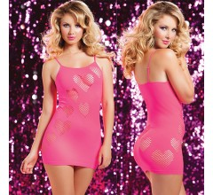 Бесшовное платье «Seven'til Pink» арт.9701 (Фото 2)
