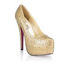 Туфли с кристаллами «HUSTLER»