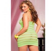 Платье в полоску «Seven'til Lime» (Фото 1)