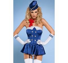 Костюм стюардессы «Stewardess Corset»