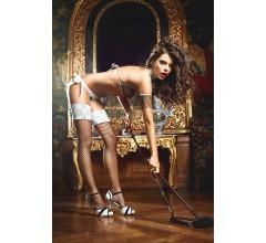 Игровые чулки «Five Star French Maid» арт.BL1345 (Фото 2)