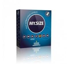 Презервативы «MY.SIZE 60» увеличенные