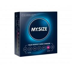 Презервативы «MY.SIZE 64» сильно увеличенные
