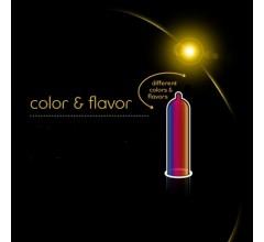 Презервативы «VITALIS Premium Color & Flavor» цветные ароматизированные 12 шт (Фото 1)